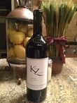 KZ Cellars Syrah, to be released in late 2014